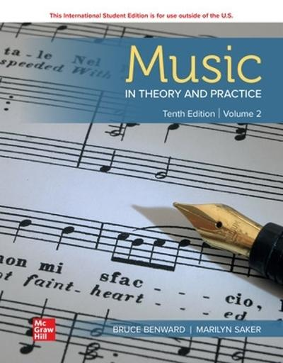 ISE Music in Theory and Practice Volume 2 - Bruce Benward