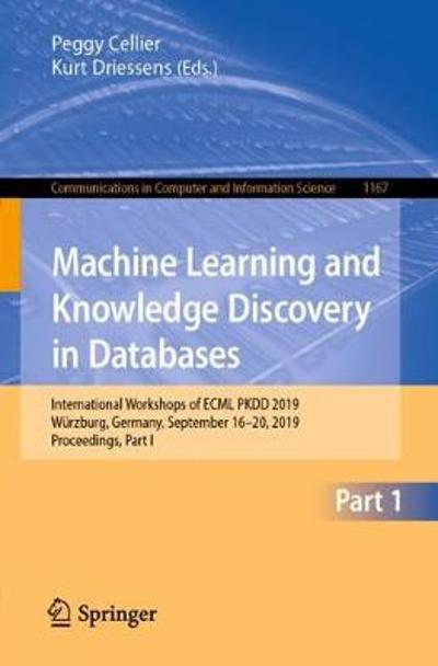 Machine Learning and Knowledge Discovery in Databases - Peggy Cellier