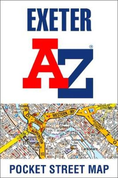 Exeter A-Z Pocket Street Map - A-Z maps