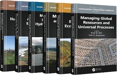 Environmental Management Handbook, Second Edition - Six Volume Set - Brian D. Fath