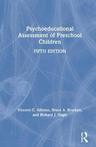 Psychoeducational Assessment of Preschool Children - Vincent C. Alfonso