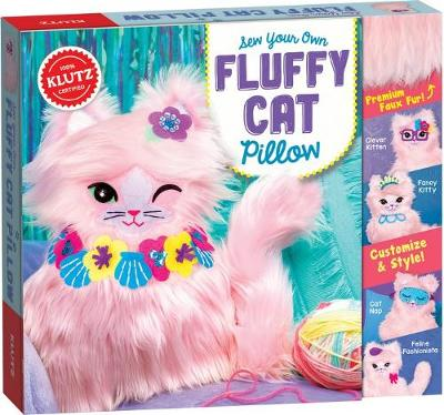 Sew Your Own Fluffy Cat Pillow - Editors of Klutz