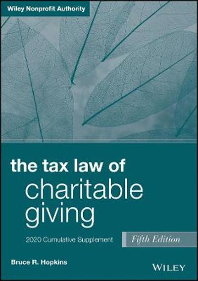 The Tax Law of Charitable Giving - Bruce R. Hopkins