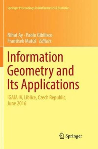 Information Geometry and Its Applications - Nihat Ay