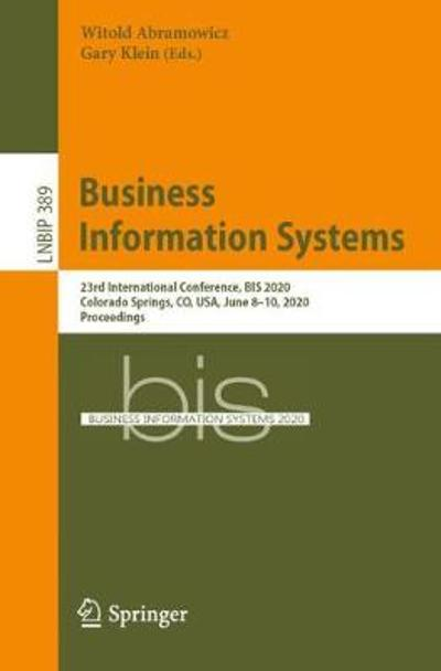 Business Information Systems - Witold Abramowicz