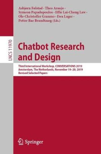 Chatbot Research and Design - Asbjorn Folstad