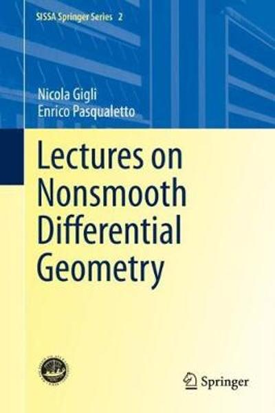 Lectures on Nonsmooth Differential Geometry - Nicola Gigli