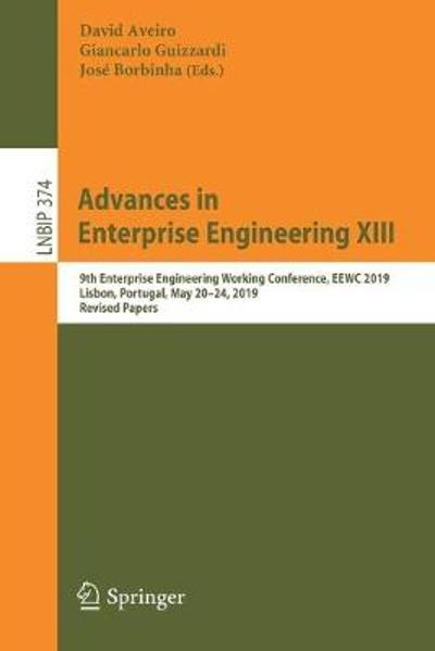 Advances in Enterprise Engineering XIII - David Aveiro