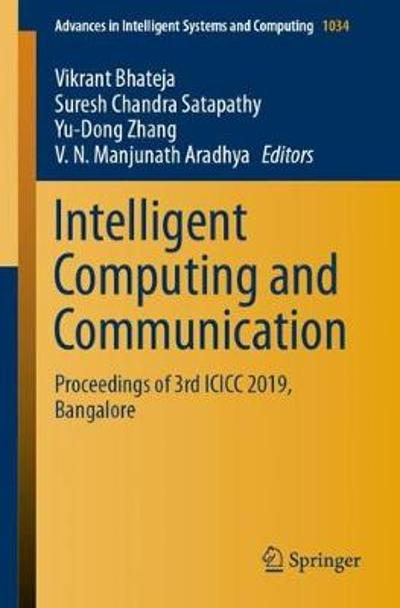 Intelligent Computing and Communication - Vikrant Bhateja