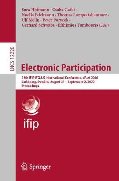 Electronic Participation - Sara Hofmann
