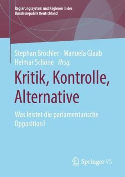 Kritik, Kontrolle, Alternative - Stephan Broechler