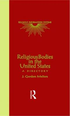 Religious Bodies in the U.S. - J. Gordon Melton