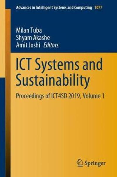 ICT Systems and Sustainability - Milan Tuba
