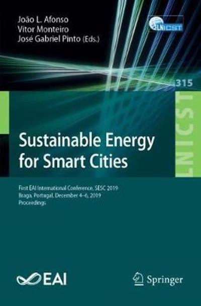 Sustainable Energy for Smart Cities - Joao L. Afonso