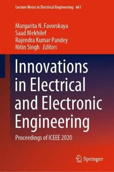 Innovations in Electrical and Electronic Engineering - Margarita N. Favorskaya