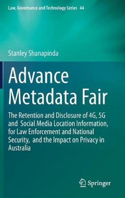 Advance Metadata Fair - Stanley Shanapinda