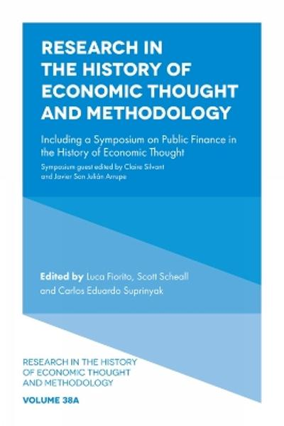 Research in the History of Economic Thought and Methodology - Luca Fiorito