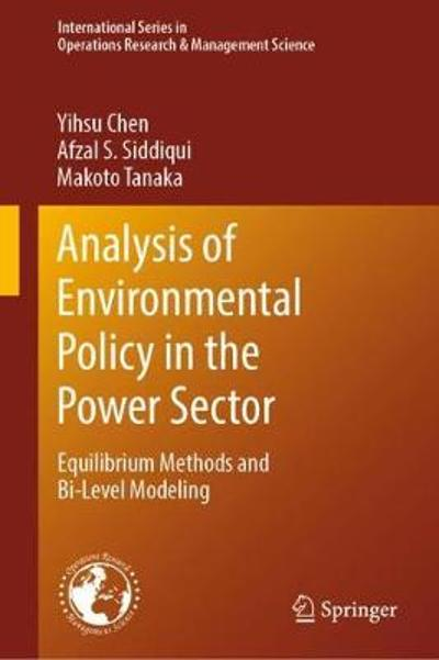 Analysis of Environmental Policy in the Power Sector - Yihsu Chen
