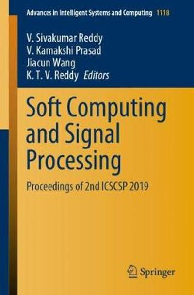 Soft Computing and Signal Processing - V. Sivakumar Reddy
