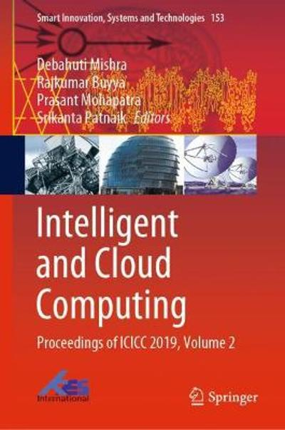 Intelligent and Cloud Computing - Debahuti Mishra