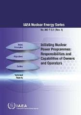 Initiating Nuclear Power Programmes - IAEA