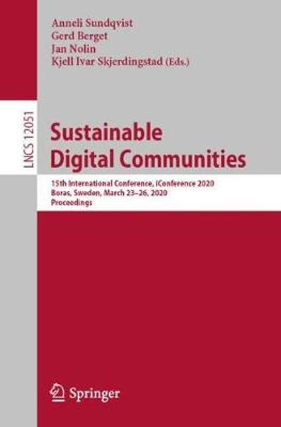Sustainable Digital Communities - Anneli Sundqvist