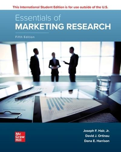 ISE Essentials of Marketing Research - Joseph Hair