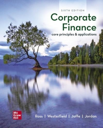 ISE Corporate Finance: Core Principles and Applications - Stephen Ross