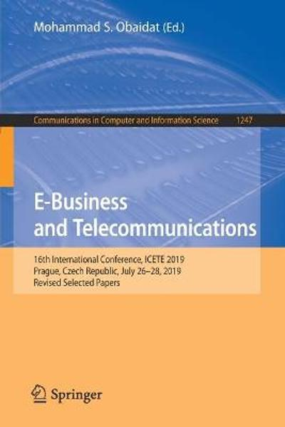 E-Business and Telecommunications - Mohammad S. Obaidat