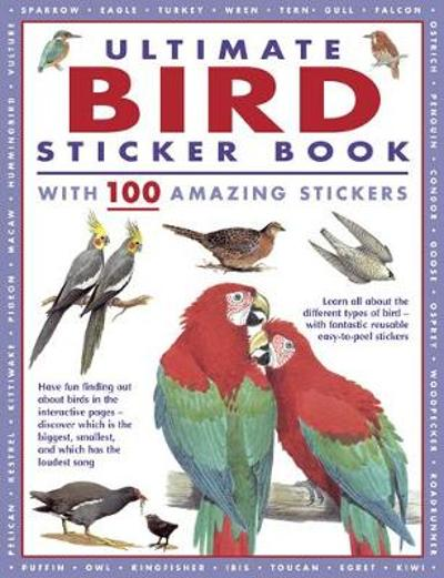 Ultimate Bird Sticker Book - Armadillo Books