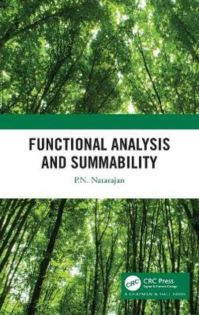 Functional Analysis and Summability - P.N. Natarajan