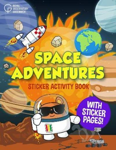 Space Adventures Sticker Activity Book - Royal Observatory Greenwich