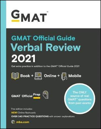 GMAT Official Guide Verbal Review 2021 - GMAC (Graduate Management Admission Council)