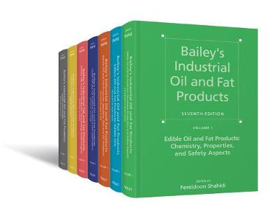 Bailey's Industrial Oil and Fat Products - Fereidoon Shahidi