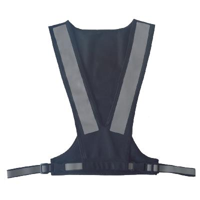 Sporty refleksvest sort - Seeme