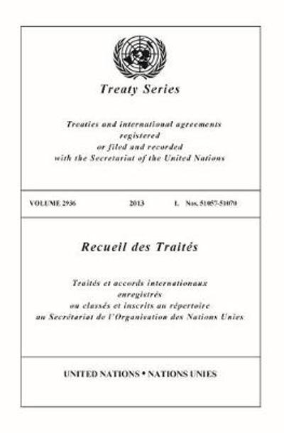 Treaty Series 2936 (English/French Edition) - United Nations Office of Legal Affairs