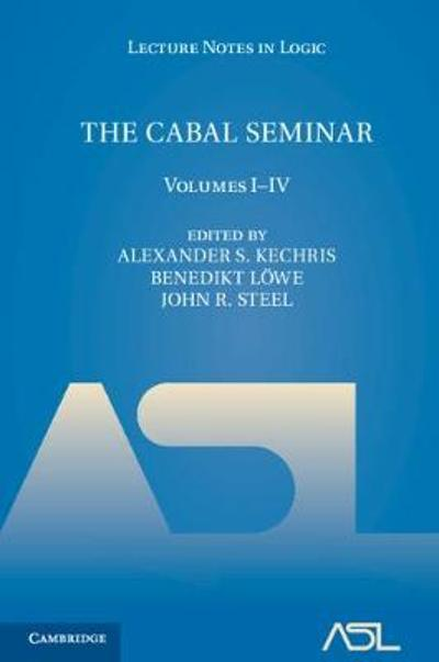 The Cabal Seminar 4 Volume Hardback Set - Alexander S. Kechris