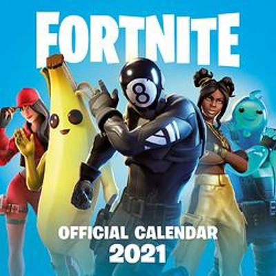 FORTNITE Official 2021 Calendar - Games Epic