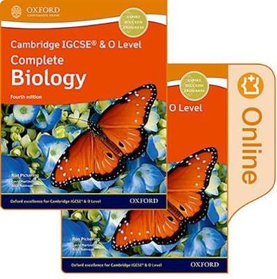Cambridge IGCSE (R) & O Level Complete Biology: Print and Enhanced Online Student Book Pack Fourth Edition - Ron Pickering