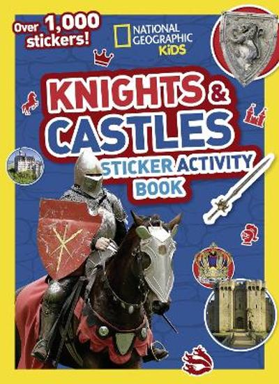 Knights and Castles Sticker Activity Book - National Geographic Kids