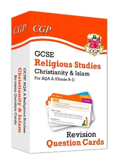 New 9-1 GCSE AQA A Religious Studies: Christianity & Islam Revision Question Cards - CGP Books