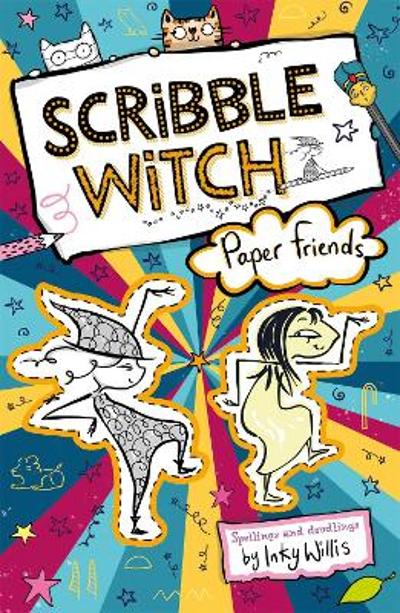 Scribble Witch: Paper Friends - Inky Willis