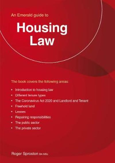 Housing Law - Roger Sproston