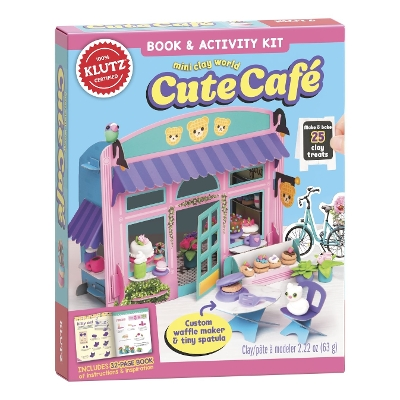 Mini Clay World: Cute Cafe - Editors of Klutz