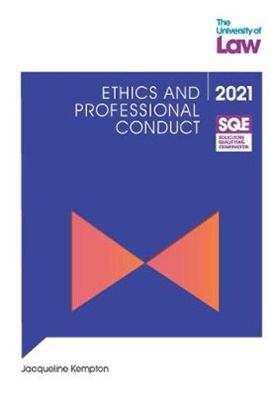 SQE - Ethics and Professional Conduct - Jacqueline Kempton