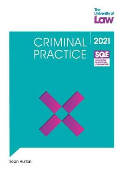 SQE - Criminal Practice - Sean Hutton
