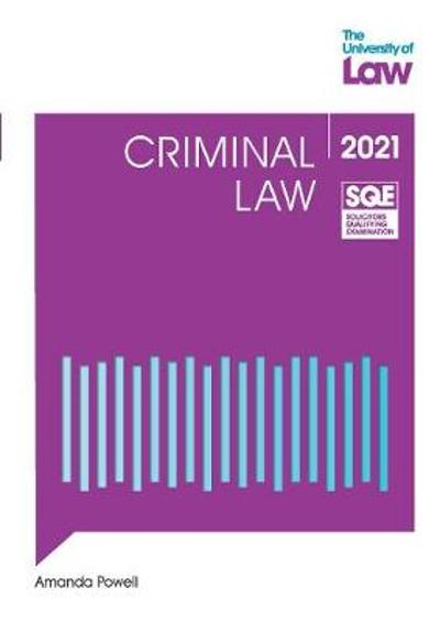 SQE - Criminal Law - Amanda Powell