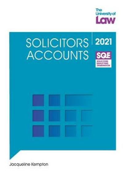 SQE - Solicitors Accounts - Jacqueline Kempton