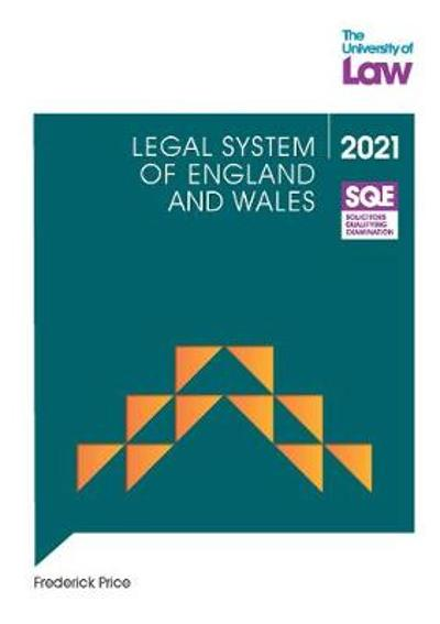 SQE - Legal System of England and Wales - Frederick Price