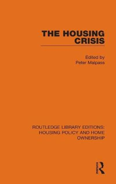 The Housing Crisis - Peter Malpass